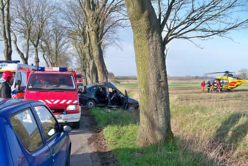 Wypadek drogowy na trasie Wolin-Kamień Pom.