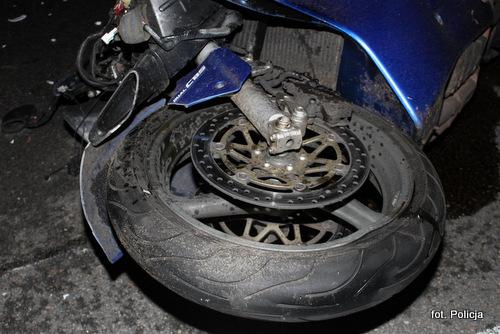 Śmierć motocyklisty!