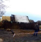 Czyżby kolejne podpalenie na terenie podwolińskiego Skansenu?