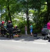 Dwie osoby ciężko ranne w wypadku pod Dziwnówkiem
