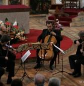 Kwartet Śląski i Andrzej Chorosiński w kamieńskiej katedrze