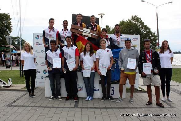 Zakończyły się Mistrzostwa Europy Juniorów w Klasie Słonka w Kamieniu Pomorskim