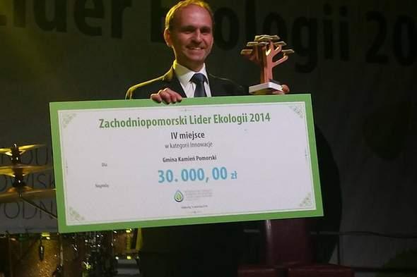 Gmina Kamień Pomorski doceniona podczas I Międzynarodowego Forum Ekologicznego w Kołobrzegu