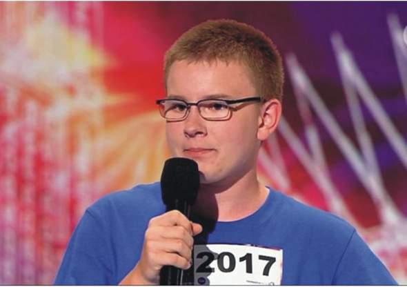 Adam Marcinkowski w Mam Talent!