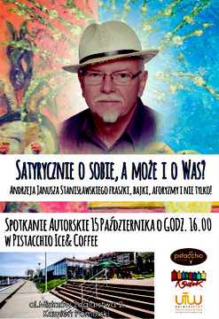 Spotkanie autorskie Andrzeja Janusza Stanisławskiego