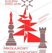 Mikołajkowy Turniej Szachowy 2014 w Kamieńskim Domu Kultury