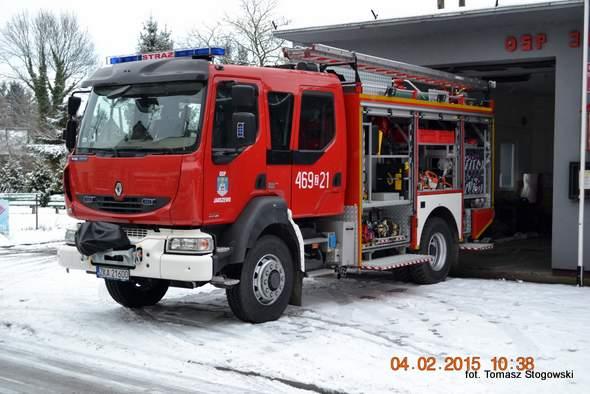 Nowy samochód ratowniczo-gaśniczy dla OSP Jarszewo