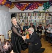 Anna Seniuk w międzyzdrojskiej bibliotece