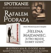 Spotkanie z Rafałem Podrazą w Kamieniu Pomorskim