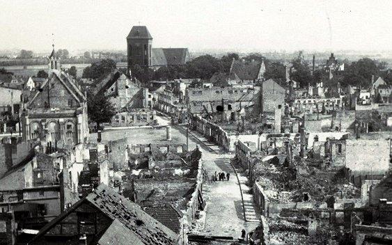 """""""Działania wojenne na Ziemi Kamieńskiej w 1945 r."""""""