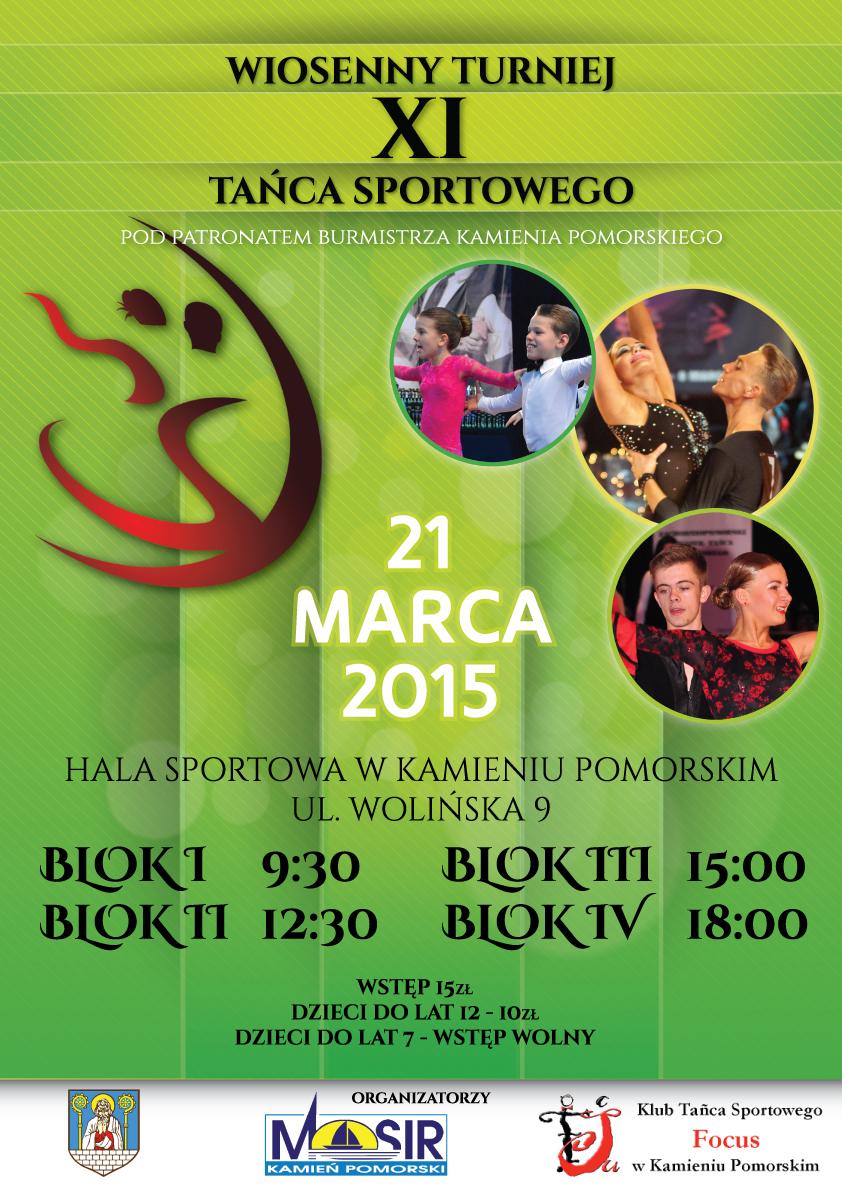 Wiosenny Turniej Tańca w Kamieniu Pomorskim