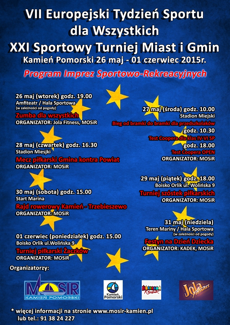 Europejski Tydzień Sportu dla wszystkich