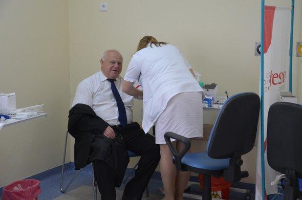 Duże zainteresowanie kampanią NEFROTEST w Gryficach