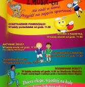 Sportowe wakacje z Miejskim Ośrodkiem Sportu  i Rekreacji