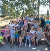 Przy współpracy Świetlic Wiejskich i Świetlicy Socjoterapeutycznej w nietypowy sposób pożegnano wakacje.