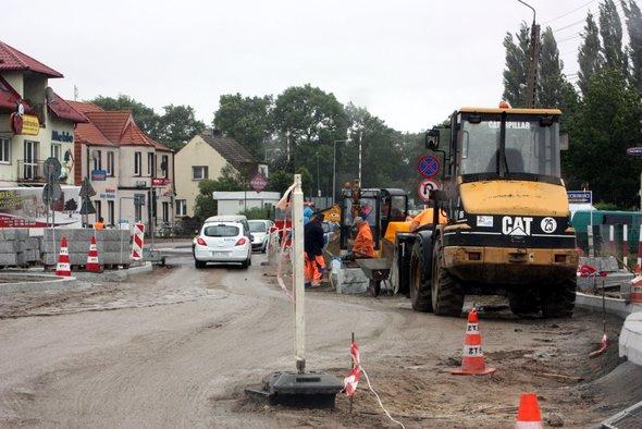 Zawiadomienie o czasowym zamykaniu ulic Dziwnowskiej, Chrobrego, Mieszka I