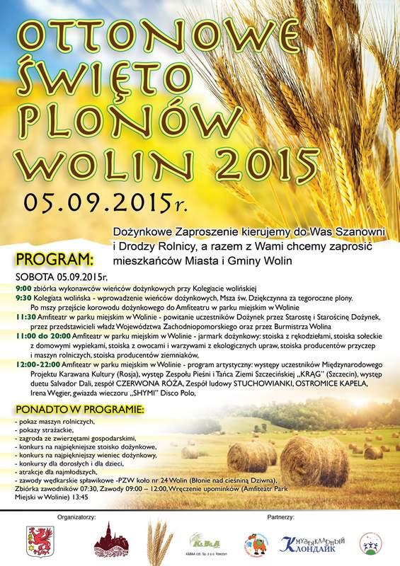 OTTONOWE ŚWIĘTO PLONÓW – WOLIN 2015 – 05.09.2015r.