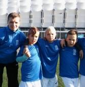 Młodzi gryfiarze zadebiutowali w reprezentacji LPFA w Poznaniu