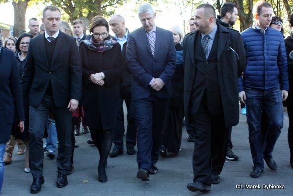Wizyta premier Ewy Kopacz w Kamieniu Pomorskim