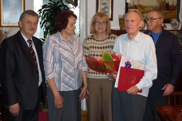 Jubileusz 95. urodzin Pana Czesława Proszko