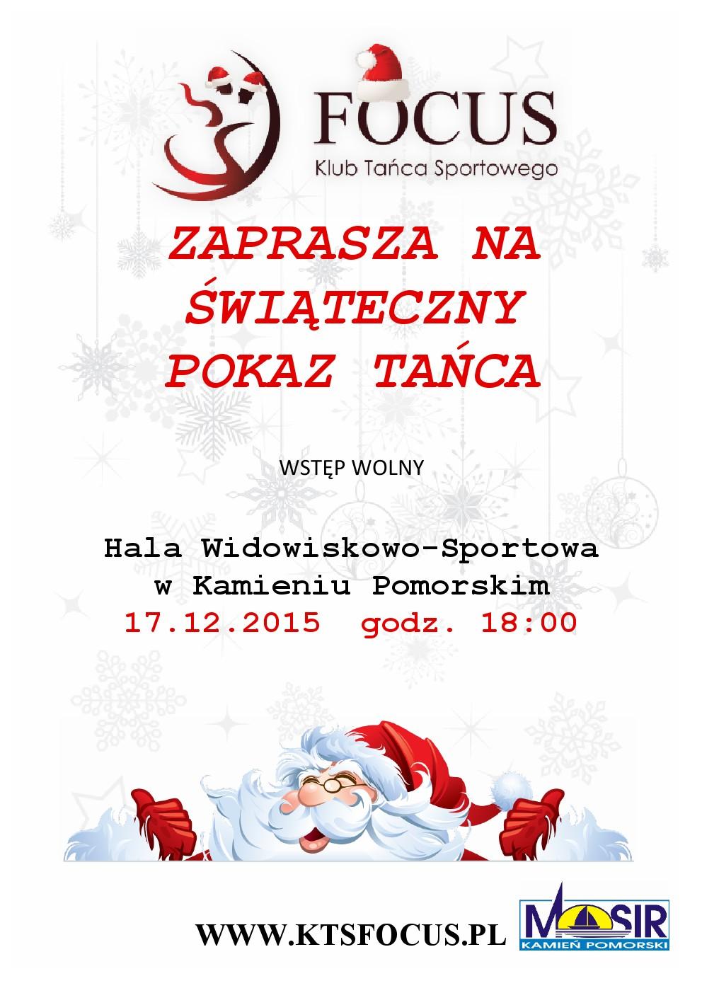 Świąteczny Pokaz Tańca