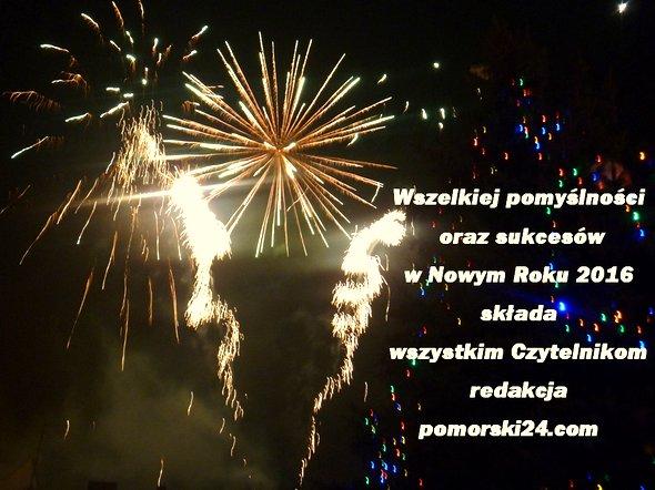 Życzenia Noworoczne 2016