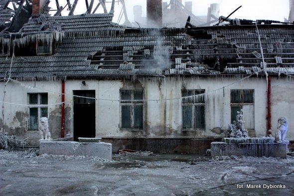 Pożar XIX – wiecznego dworu w Miłachowie…