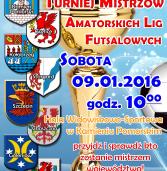 V Zachodniopomorski Turniej Mistrzów Amatorskich Lig Futsalowych 2016