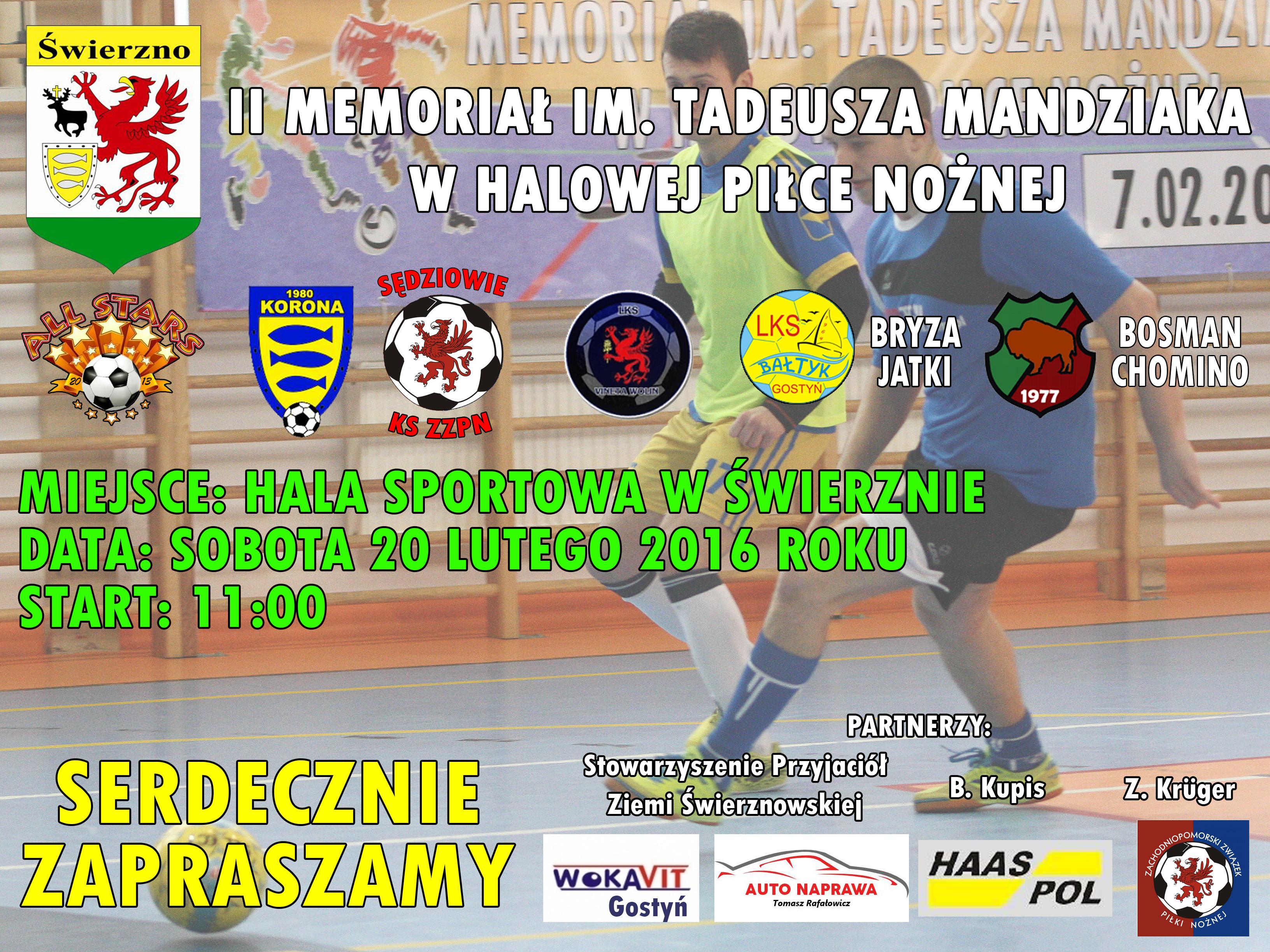 II Memoriał im. Tadeusza Mandziaka
