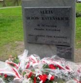 Obchody rocznicy katyńskiej w Kamieniu Pomorskim
