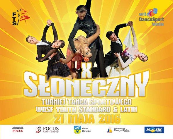 X Słoneczny Turniej Tańca Sportowego WDSF Youth Standars & Latin
