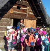 Polkowickie dzieci w Wisełce w ramach Zielonej Szkoły