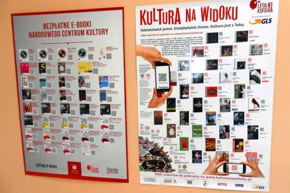 Kultura na Widoku w kamieńskiej bibliotece!