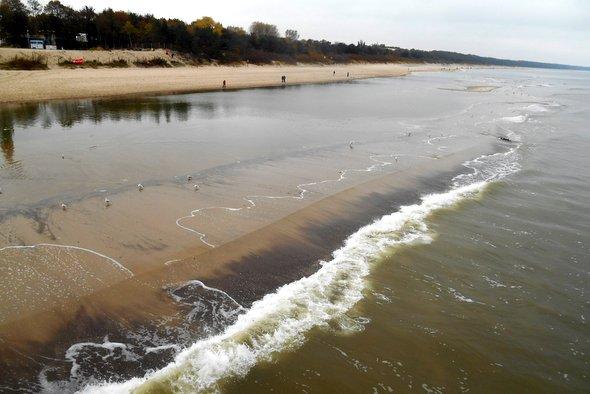 Międzyzdrojskie łachy piaskowe budzą zdumienie