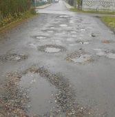 Jeszcze jedna kamieńska ulica prosi o błagalną pomoc. Tym razem jest nią H. Wieniawskiego na Osiedlu Chopina…
