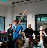 Zajęcia muzyczne dla dzieci w Centrum Współpracy Międzynarodowej Grodno