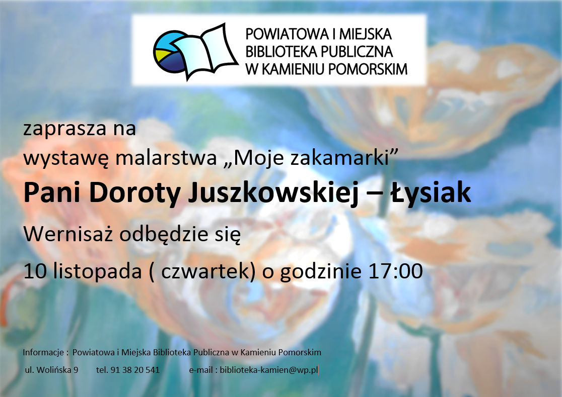 """,,Moje zakamarki"""" Doroty Juszkowskiej – Łysiak"""