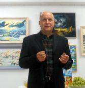 Wernisaż wystawy malarstwa Bronisława Pietkiewicza