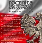 Zapraszamy na obchody 98. Rocznicy Odzyskania przez Polskę Niepodległości