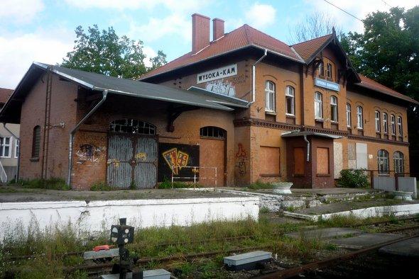 Dworzec widmo, ale nie tylko, bo z paliwem w tle…