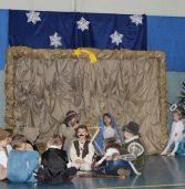 Jasełka w przedszkolu w Świerznie