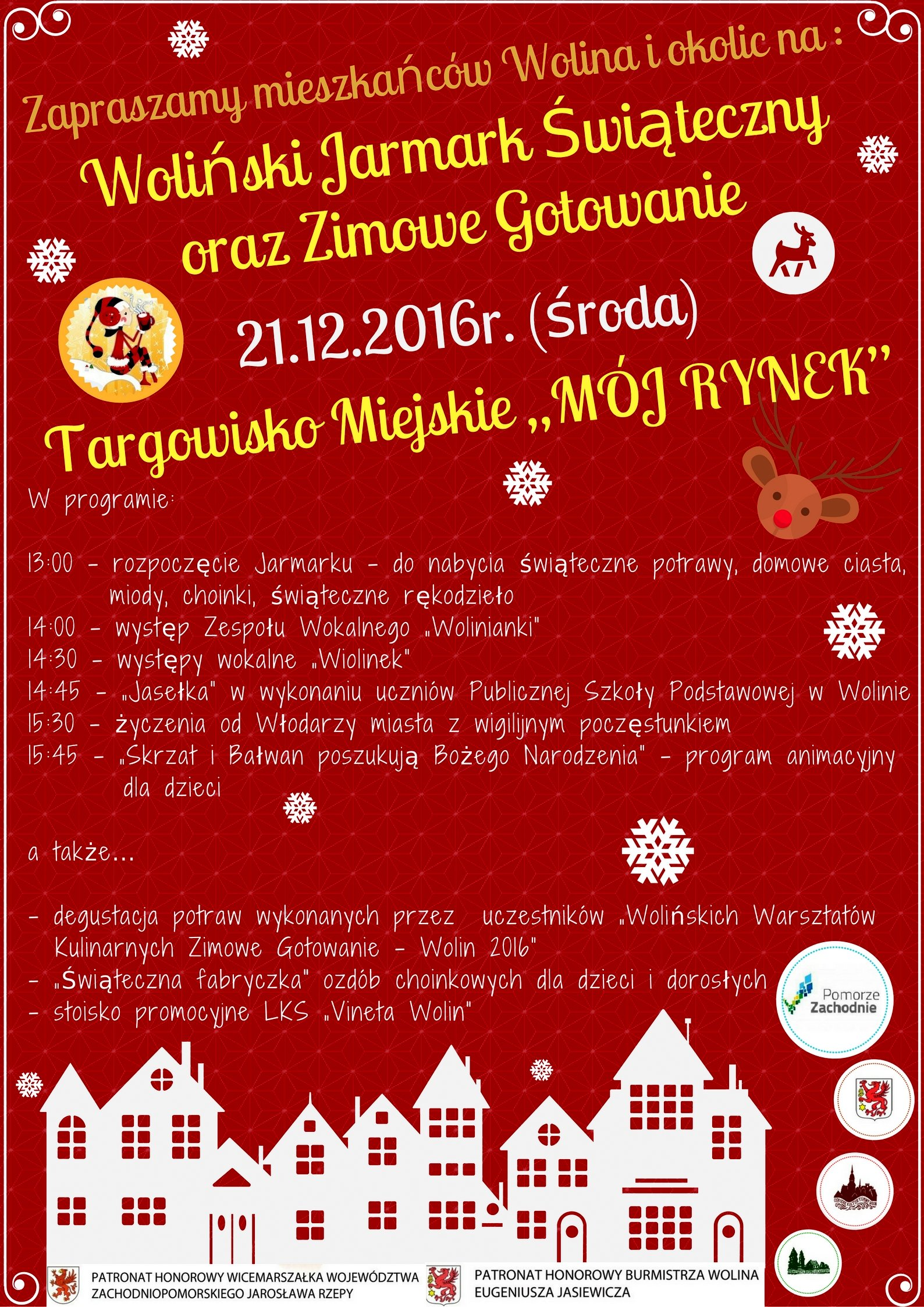 Jarmark Świąteczny w Wolinie