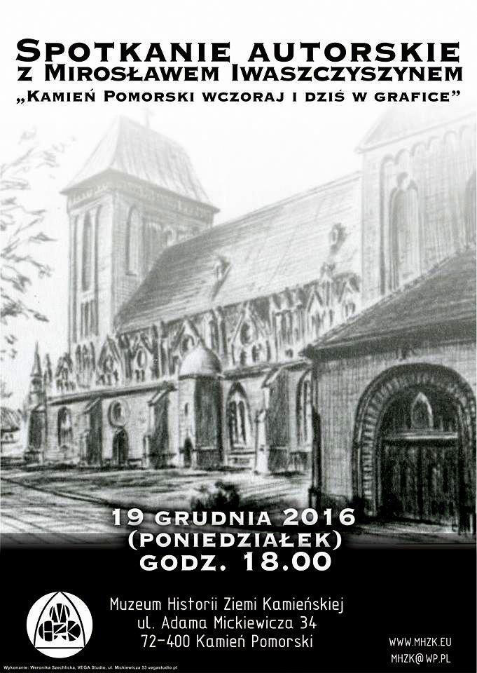Promocja publikacji z grafikami Mirosława Iwaszczyszyna