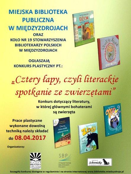 MBP Międzyzdroje-konkurs plastyczny