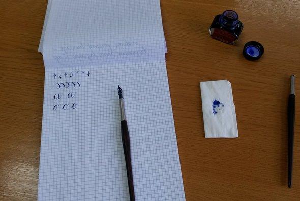 Kaligrafia w Bibliotece