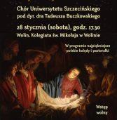 Chór Uniwersytetu Szczecińskiego – koncert w Wolinie 28.01.2017