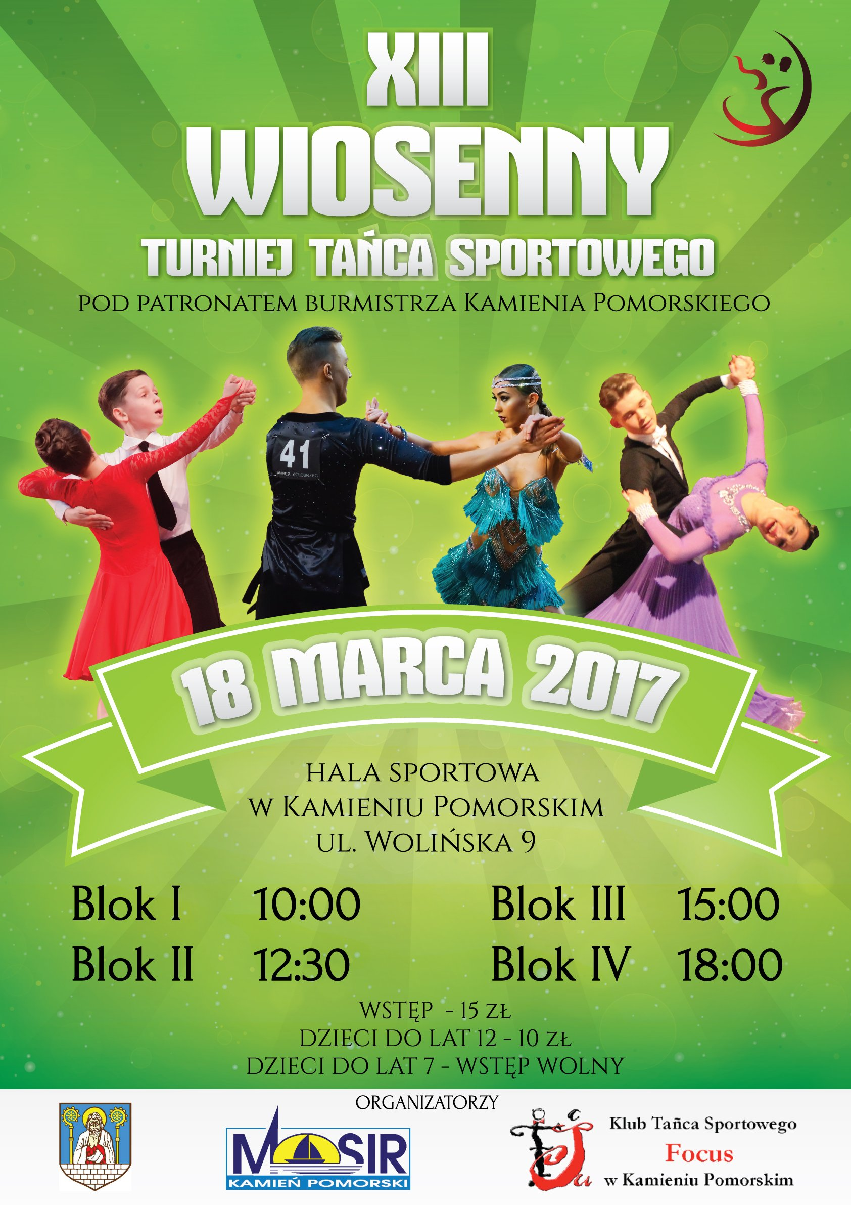 XIII Wiosenny Turniej Tańca Sportowego