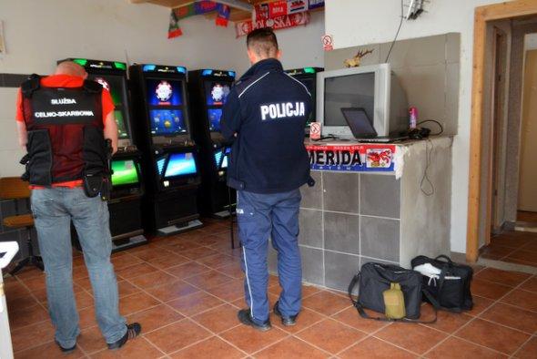 Krajowa Administracja Skarbowa ujawnia kolejne automaty hazardowe