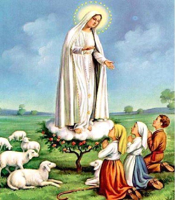 13 maj – rocznica pierwszego objawienia w portugalskiej Fatimie