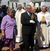 Relikwie św. Jana Pawła II w dziwnowskim kościele
